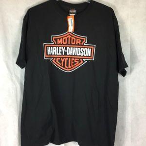 Harley Davidson black graphic T-shirt size 2X